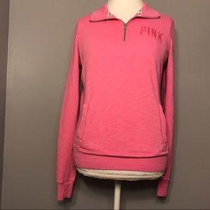 Victoria's Secret PINK Half Zip Size XS
