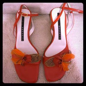 Fratelli Rossetti Shoes - 🌹NBW Fratelli Rossetti Embellished Kitten Heel