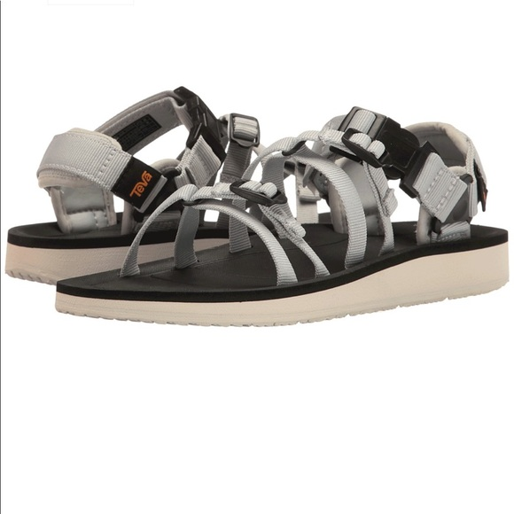 0edd4312c Teva Authentic Alp Premier Glacier Grey Sandals 👽