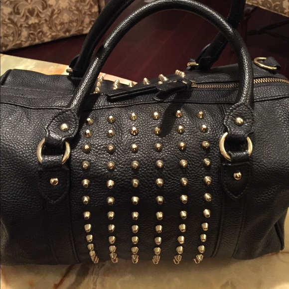 stable quality save off speical offer H&M Bags | Sale Ladies Black Studded Bag By Hm | Poshmark