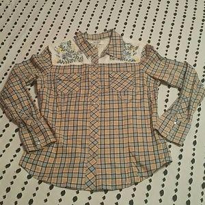 Paul & Joe Tops - NWOT Paul & Joe for Target Western Shirt