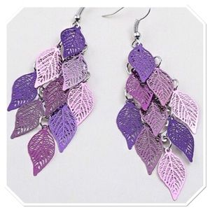 Boutique Jewelry - Charm Multi-leaf Earrings
