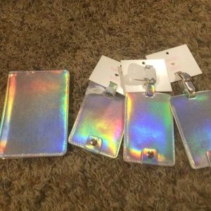 Ban.do HOLOGRAPHIC Passport Holder & Luggage Tags