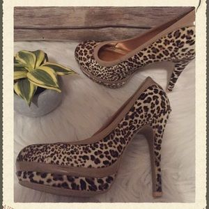 Baby Phat Shoes - Baby Phat Leopard Print Heels Size 7.5