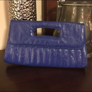 Handbags - Royal blue clutch