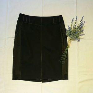 Cache black pencil skirt