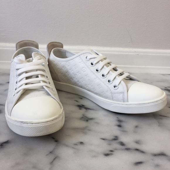 86594dca5620 Louis Vuitton Shoes - Louis Vuitton white punchy sneaker