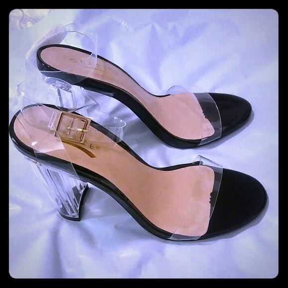 96a7be020742 Women s Transparent Clear High Heel