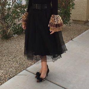 WINDSOR Dresses & Skirts - Black tulle skirt
