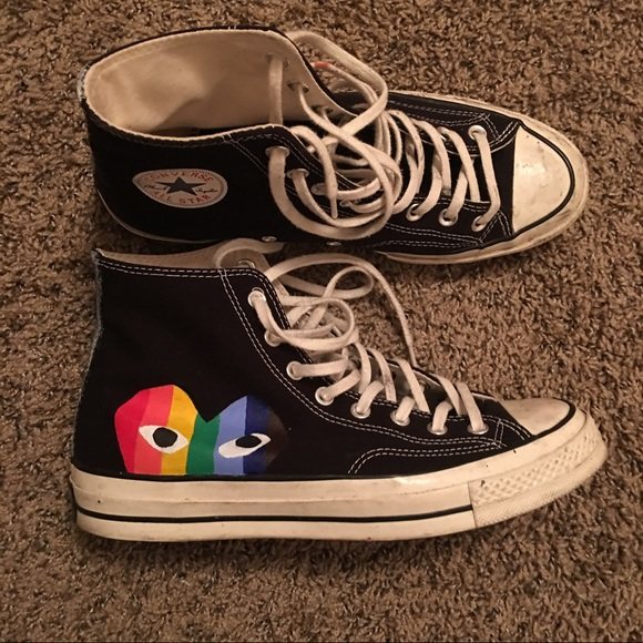 Converse Shoes | Custom Cdg 1970 | Poshmark
