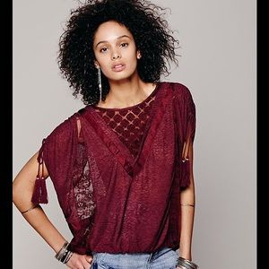 Free People New Romantics South of the Equator Top