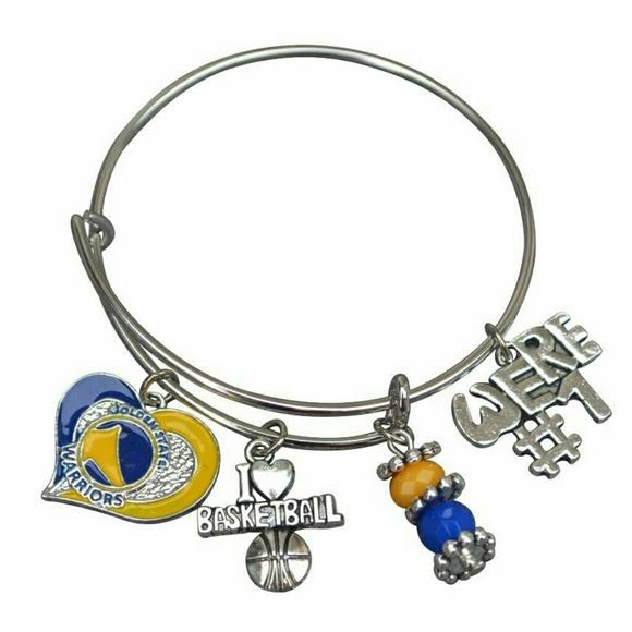golden state warriors bracelet warriors jewelry from