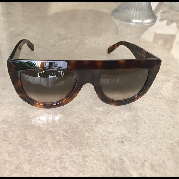 044d2c353cc1 Celine Accessories - Celine 41398 S Tortoise Sunglasses