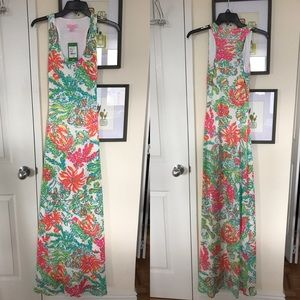 Lilly Pulitzer Astoria Crochet Maxi Dress