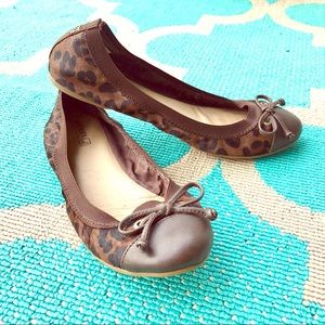 Sperry Top-Sider Shoes - NWOT Sperry Top Sider Elise Leopard Print Flats