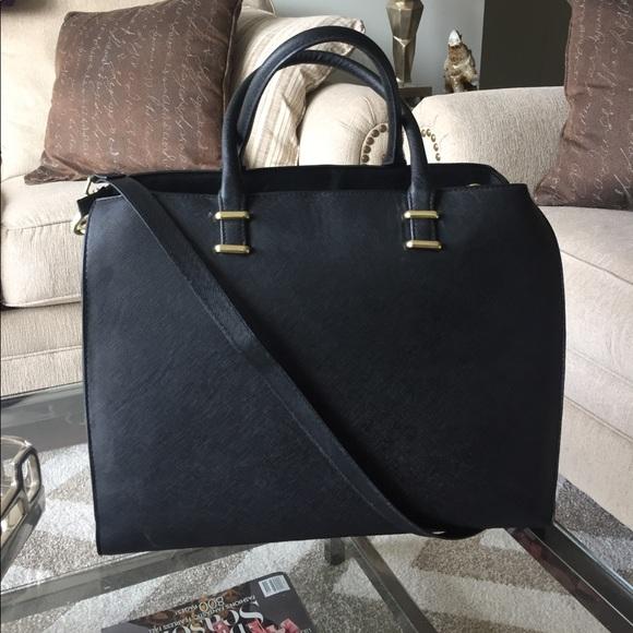 595fd1379816 H M Handbags - H M Black Structured Bag
