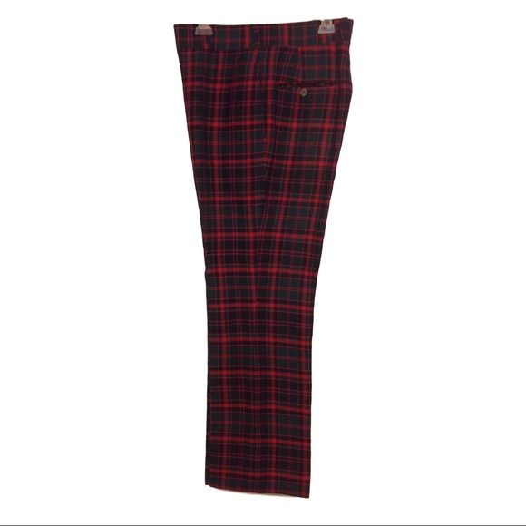 e3d67685a Majer Other - Men s Vintage 60s 70s Tartan Plaid Golf Pants ...