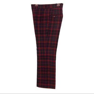 7e857c22b Majer Pants - Men s Vintage 60s 70s Tartan Plaid Golf Pants ...