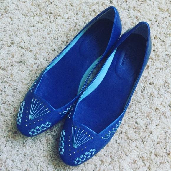 8f67c874787 Cole Haan Shoes - Cole Haan Lissa ballet flats in cobalt blue - 6.5