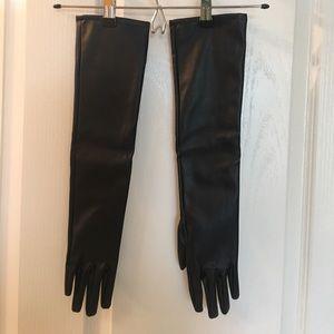 Black Gown Gloves