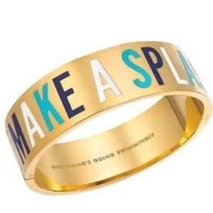 kate spade Jewelry - ✨NWT✨ Kate Spade Make A Splash Gold Bracelet