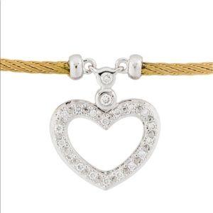 Charriol Classique Diamond Heart 18K & Diamonds