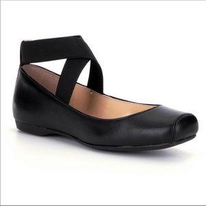 Jessica Simpson Shoes - Jesica Simpson Strappy SquareToe Ballet Flat 10