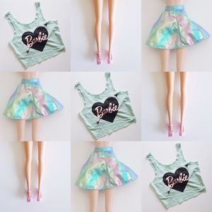 Barbie Tops - Barbie Bow Knot Crop Top Tank