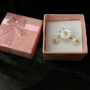 Jewelry - Daisy ring and earrings
