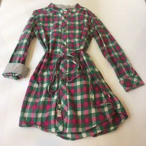 Appaman Other - Appaman Flannel Shirt Dress Size 10