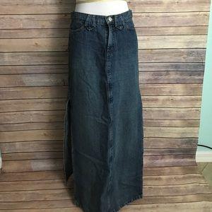 Paris Blues Dresses & Skirts - Denim long skirt