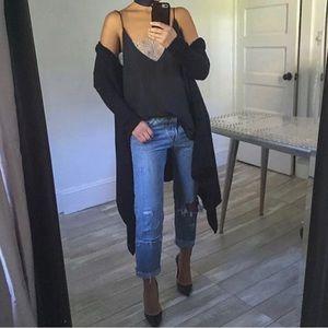 Levi Boyfriend Distressed Jeans Size 27/L32