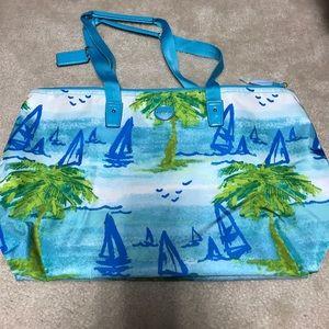 Coach Handbags - New! Coach Beach Scene Weekender Set!