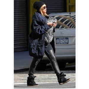 Isabel Marant wedge sneakers as seen on Beyonce