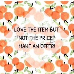 Handbags - Let's negotiate!  It's part of the fun!