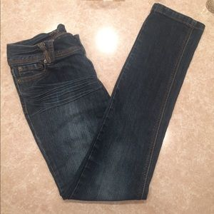 Asphalt Denim - Blue dark wash skinny jeans