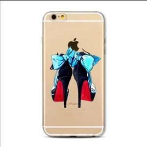 Accessories - 🔥NEW🔥 fashion red bottoms CL style iPhone cover