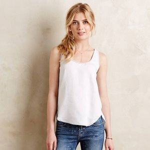 Cloth and stone chambray tank top
