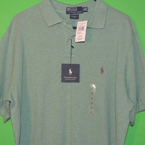 NWT Polo Mens XL Custom Fit Long Shirt NEW