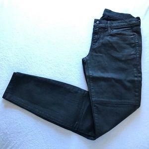 GAP Denim - GAP black coated jeans.