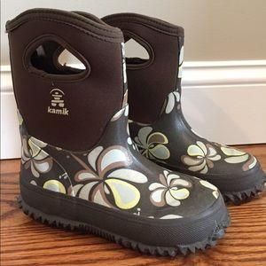 Kamik Other - Little Girls Kamik Rain Boots SZ 12