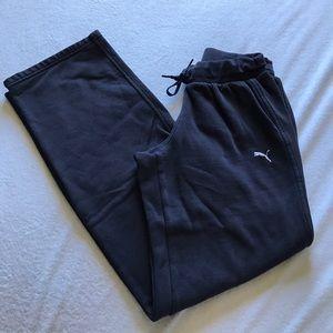 Puma Pants - Puma blue sweatpants.