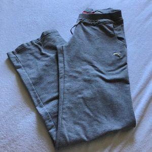 Puma Pants - Puma gray sweatpants.