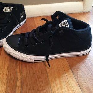 7a8d5a511aa665 Converse Shoes - Slip on no tie boys converse size 3