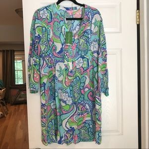 NWT Lilly Pulitzer Sarasota Tunic Dress