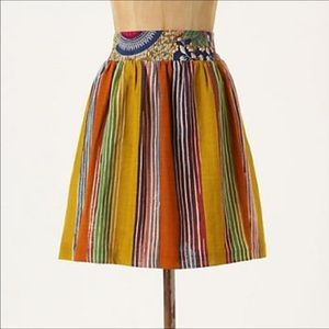 Anthropologie edme & esyllte Amhara skirt