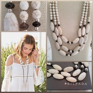 Silpada Jewelry - JUST IN 🆕 'ACT NATURAL' BIB STYLE NECKLACE