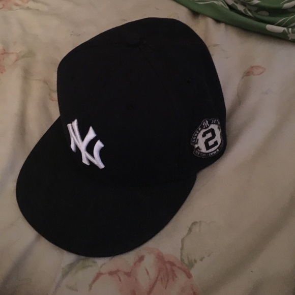 Derek Jeter New York Yankees retirement cap NewEra.  M 59383dca2599fe22ac00ce9a 5c597a753b6