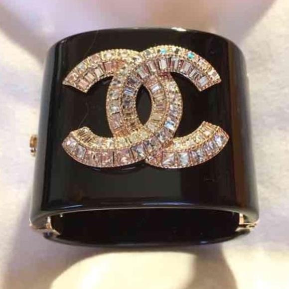 Jewelry - C H A N E L cuff/Bracelet Brand New