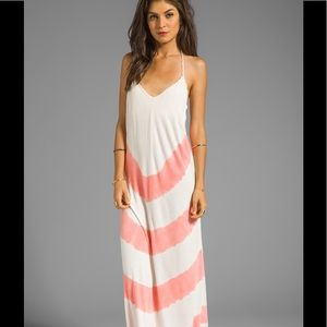 Gypsy 05 Dresses & Skirts - Gypsy 05 LA BA DEE BAMBOO KNIT BRAIDED HALTER MAXI